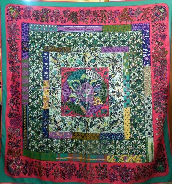 47db483d390 Velký hedvábný šátek