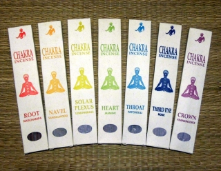 Chakra Incense - Throat